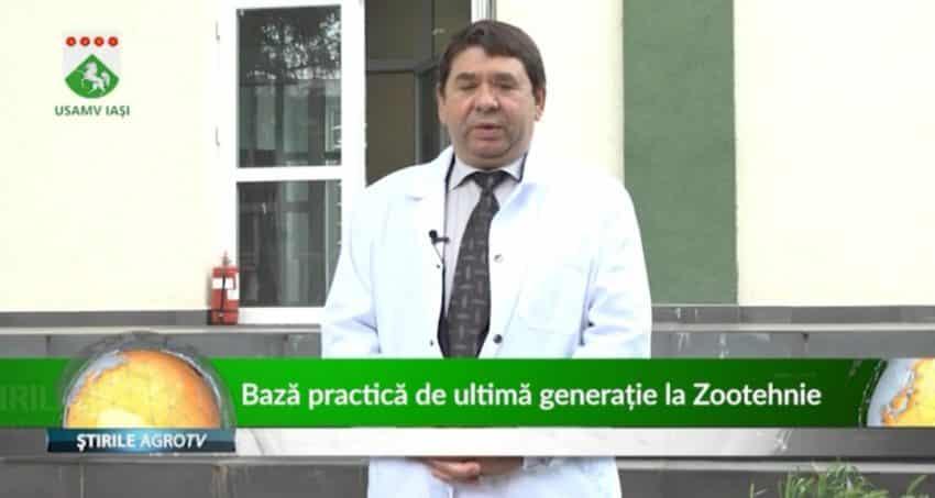 Bază practică de ultimă generație la Facultatea de Zootehnie din Iași