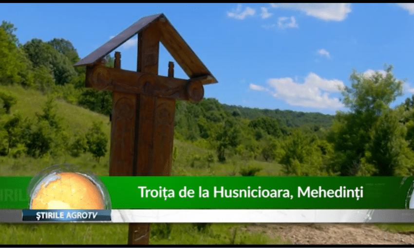 VIDEO. Povestea Troitei de la Husnicioara, Mehedinti
