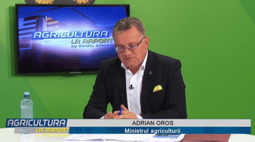 Adrian Oros: Adevaratii fermieri au fost dati la o parte de vanatorii de subventii