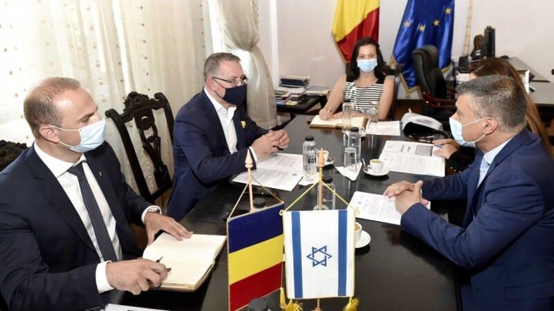Colaborarea Romania-Israel privind solutii tehnologice impotriva secetei. Propunerea ambasadorului