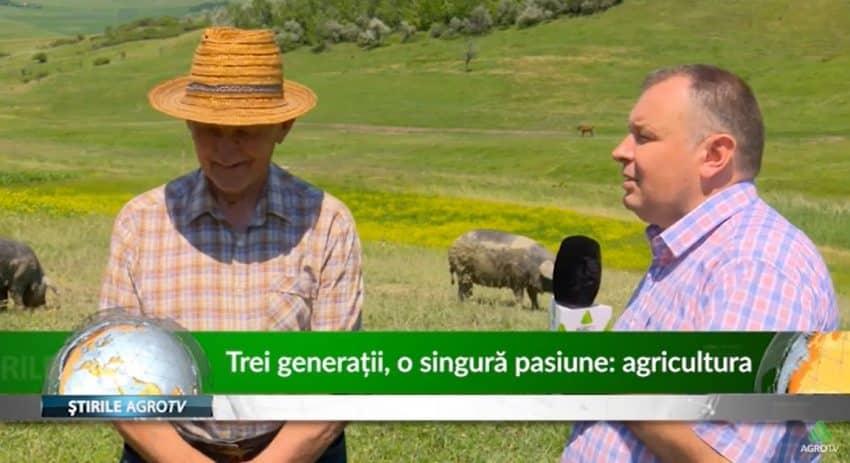 VIDEO Trei generatii, o singura pasiune… Agricultura