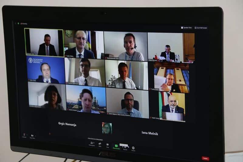 OROS, discutii cu ministrii agriculturii din Belarus si Republica Moldova