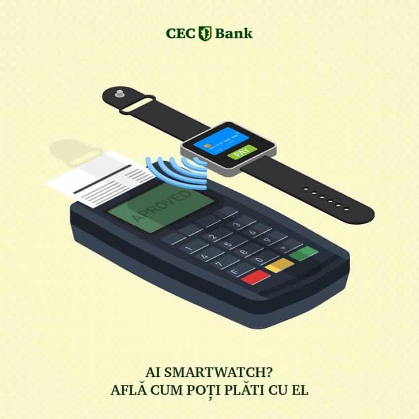CEC Bank a lansat o noua optiune de plata pentru clienti