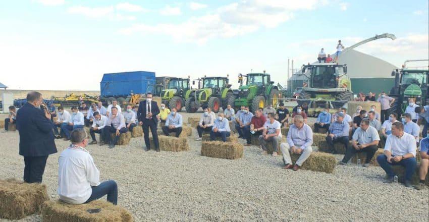 Intalnire cu fermierii din judetul Suceava. PROBLEMELE ridicate specifice zonei