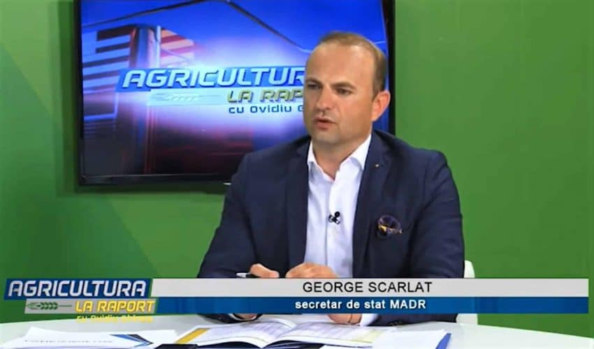 """George Scarlat catre fermieri: """"Nu va mai faceti OUAI-uri! Statul va moderniza irigatiile"""""""