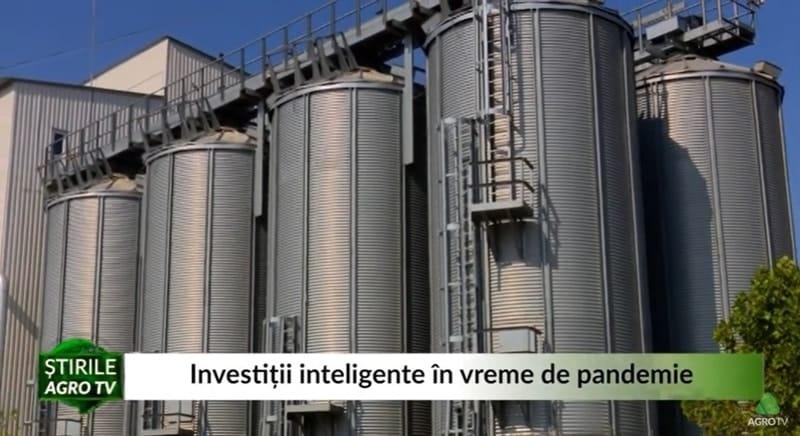 VIDEO Investitii inteligente in vreme de pandemie. Proiect de 1,7 milioane euro al unui fermier