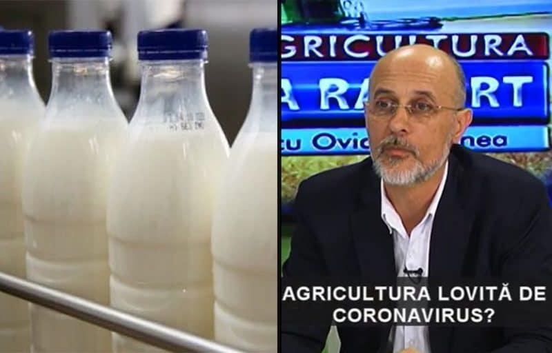 """Dorin Cojocaru (APRIL): """"Prețul laptelui la poarta fermei este destul de mare la ora actuală"""""""