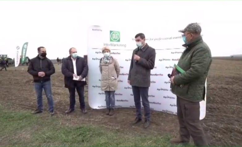 VIDEO – Prezent la AgriPlanta-RomAgroTec, Emil Dumitru lanseaza o promisiune de 3,4 mld. euro