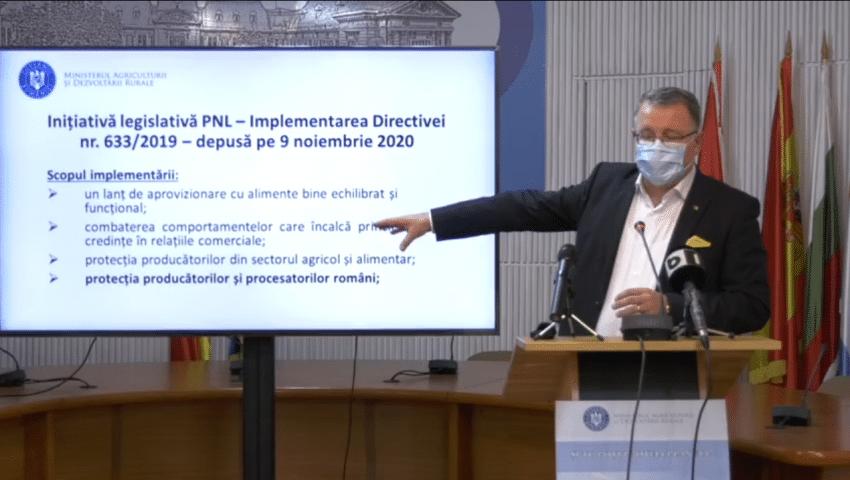 "Conferinta de presa MADR: ""Consolidarea producatorului local"""