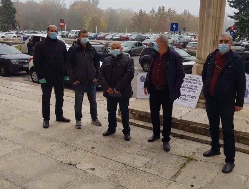 protest la sediul DSVSA București
