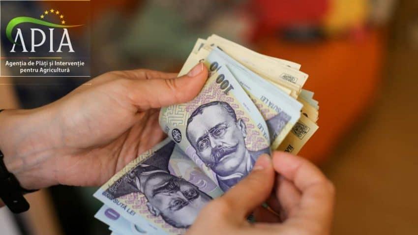 AVANS APIA: S-au încheiat plățile! 1,43 miliarde euro au intrat în conturile fermierilor
