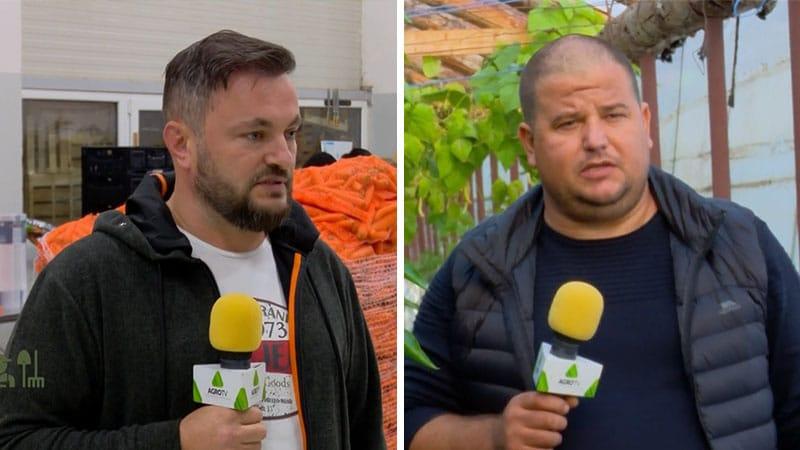 VIDEO Portret de fermier – legumicultorii Valentin Cristea și Claudiu Breazu
