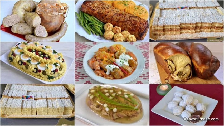 Caloriile alimentelor de pe mesele de Craciun si Revelion