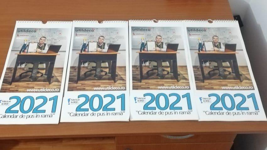 Calendar de pus în ramă 2021 – Inițiativa inedită de promovare a producătorilor locali