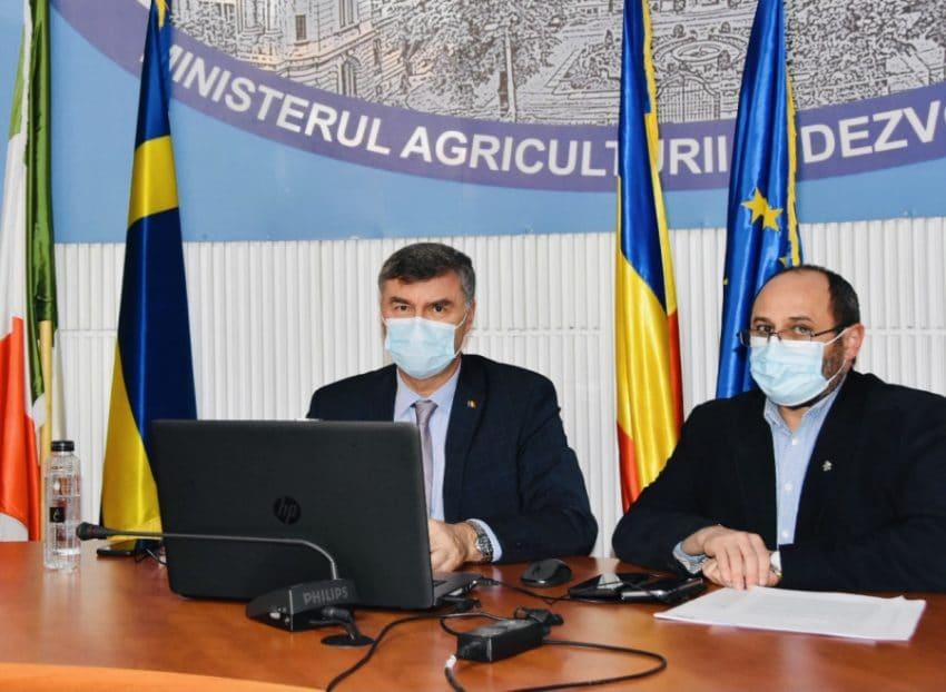 GFFA 2021 a adunat 80 de miniștri ai agriculturii de la nivel mondial, printre care și Secretarul de Stat Gheorghe Ștefan