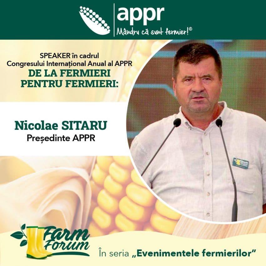 """Congresul Anual International """" De la Fermieri pentru Fermieri"""" 2021"""